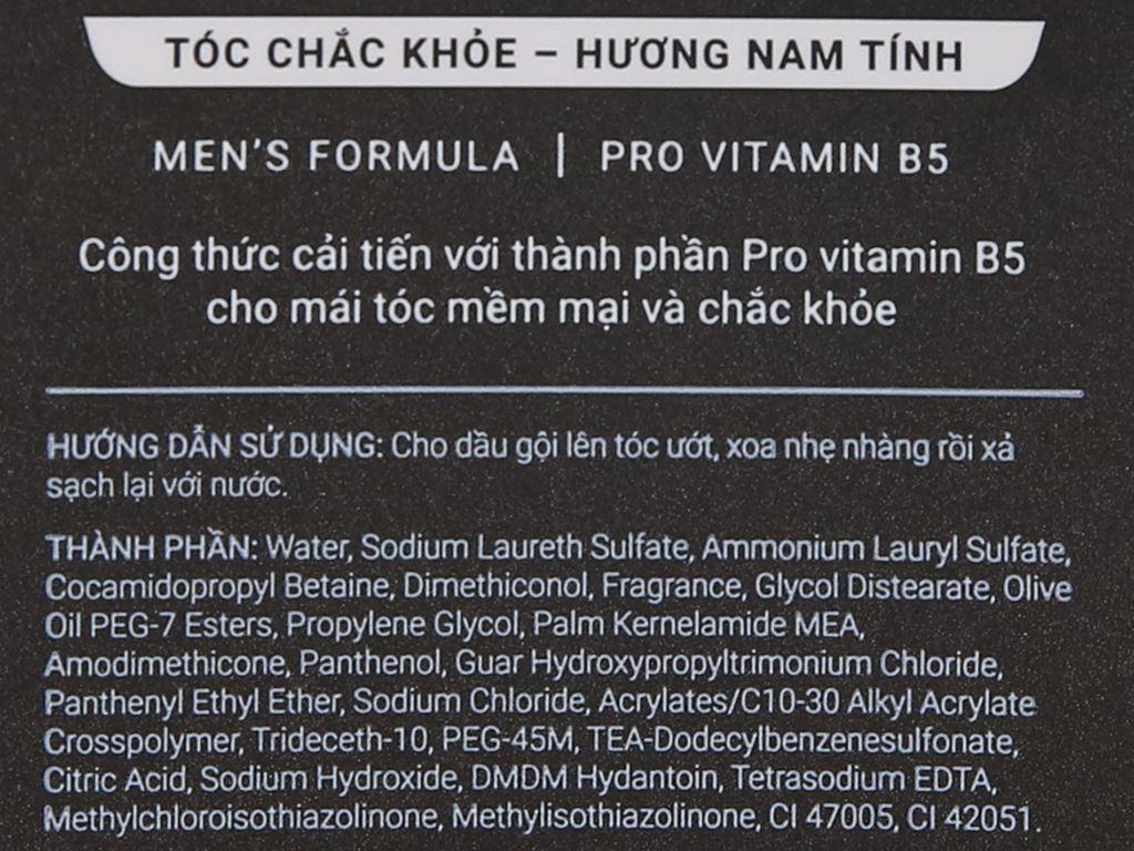 Dầu gội hương nước hoa Romano Classic tóc chắc khoẻ 380g 6