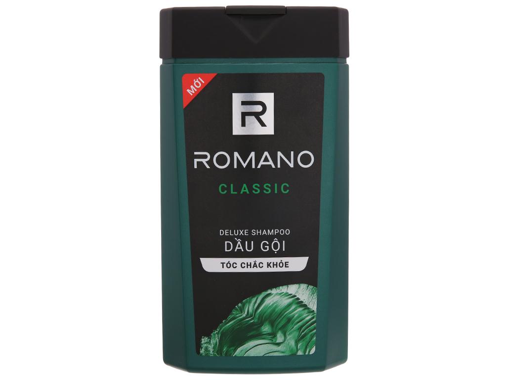Dầu gội hương nước hoa Romano Classic tóc chắc khoẻ 380g 2