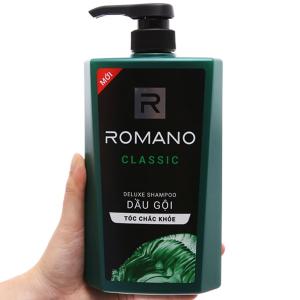 Dầu gội hương nước hoa Romano Classic 650g
