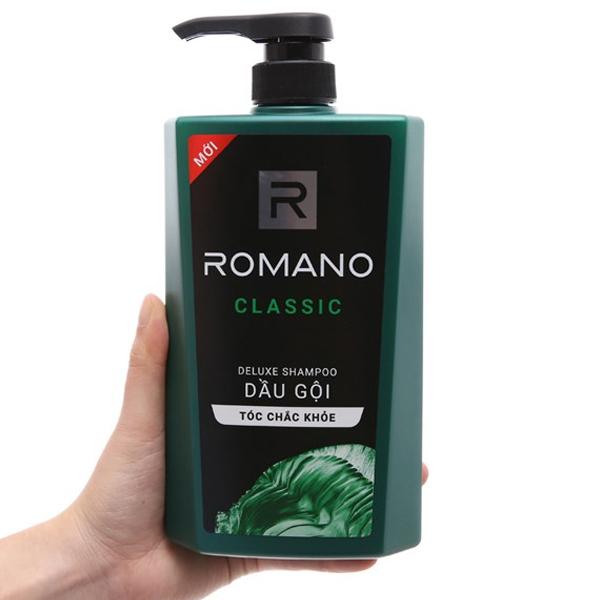 Dầu gội Romano Classic hương nước hoa 650g