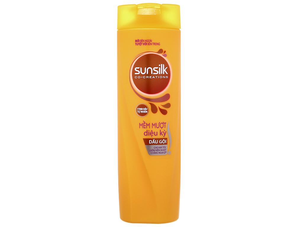Dầu gội Sunsilk mềm mượt diệu kỳ dịu nhẹ 320g 2