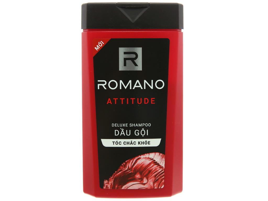 Dầu gội hương nước hoa Romano Attitude tóc chắc khoẻ 180g 2