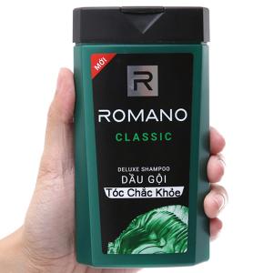Dầu gội hương nước hoa Romano Classic 180g
