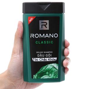 Dầu gội Romano Classic hương nước hoa 180g