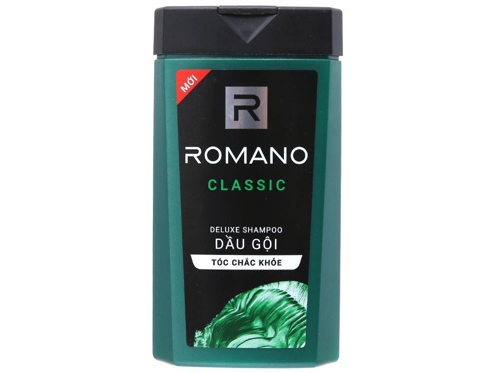 Dầu gội Romano Classic hương nước hoa 180g 2