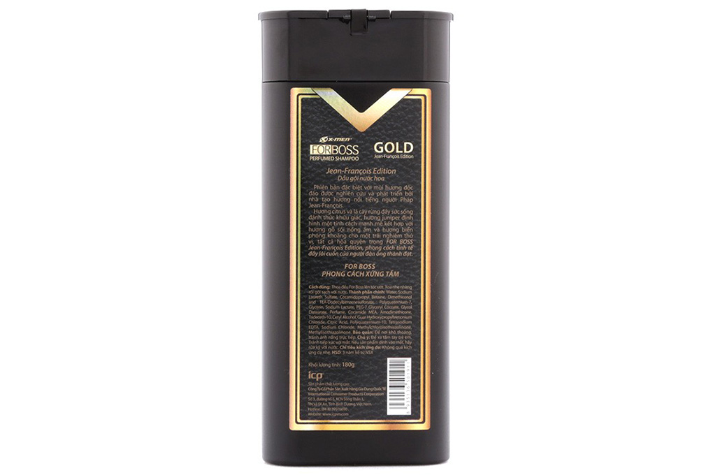 Dầu gội X-Men For Boss Perfumed 180g