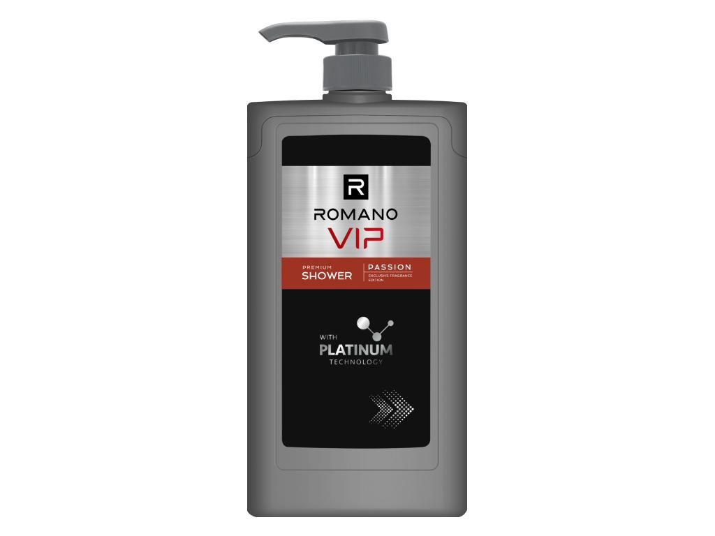 Dầu gội nước hoa cao cấp Romano VIP 650g 1