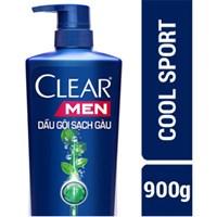 Dầu gội làm sạch gàu, nuôi dưỡng da đầu Clear Men Cool Sport 900g