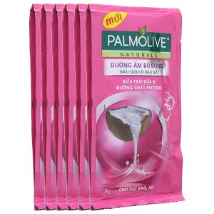 Dầu gội Palmolive dưỡng ẩm bổ sung 6g x 12 gói