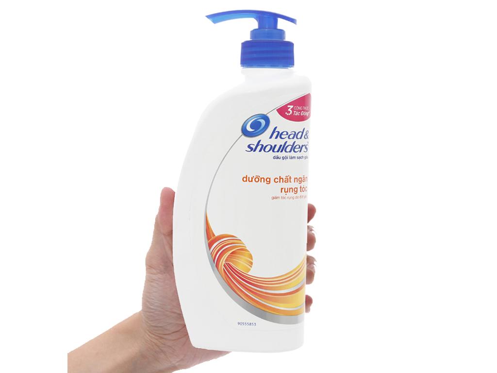 Dầu gội Head & Shoulders dưỡng chất ngăn rụng tóc dịu nhẹ 650g 3