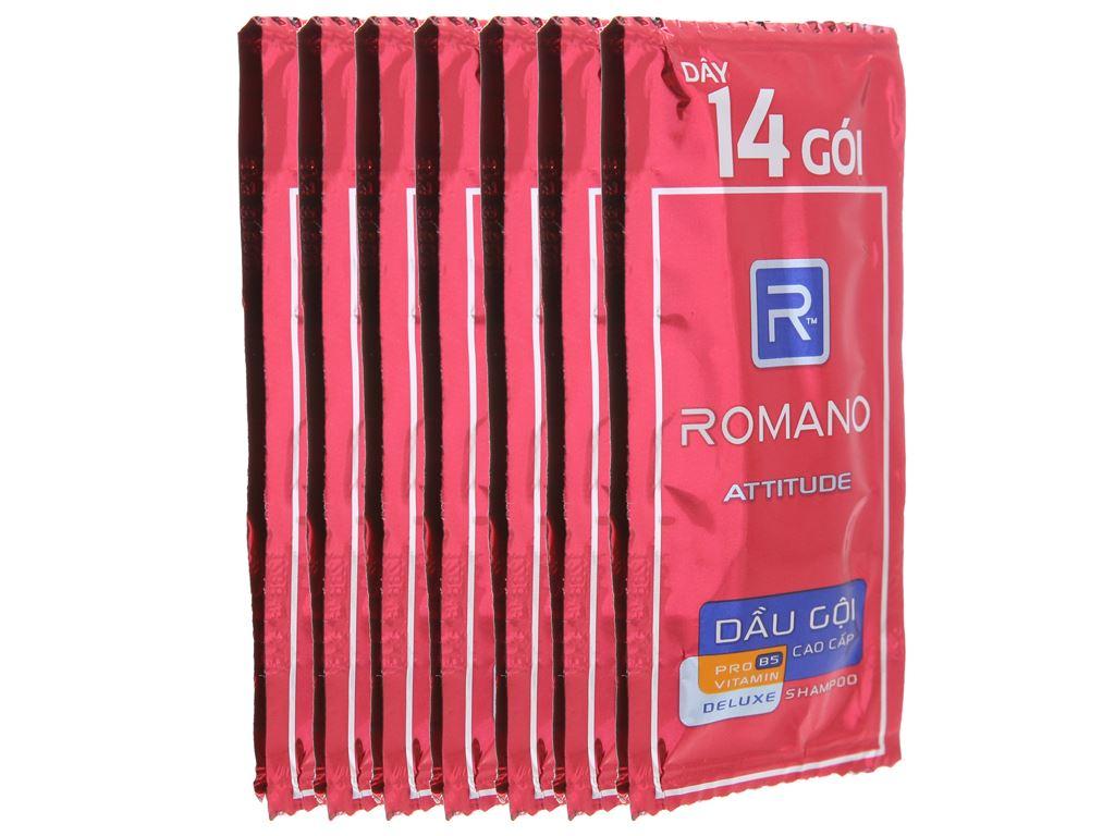 Dầu gội cao cấp Romano Attitude 5g x 14 gói 2