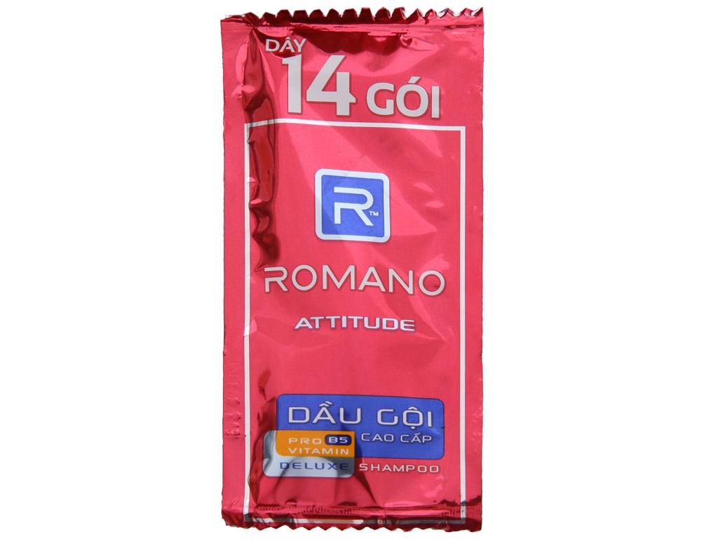 Dầu gội cao cấp Romano Attitude 5g x 14 gói 3