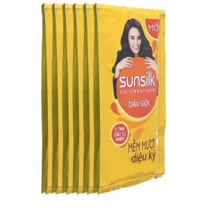 Sunsilk mềm mượt 10 gói x 6g