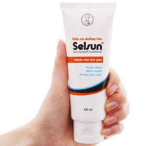 Dầu xả dưỡng tóc Selsun dành cho tóc gàu 100ml