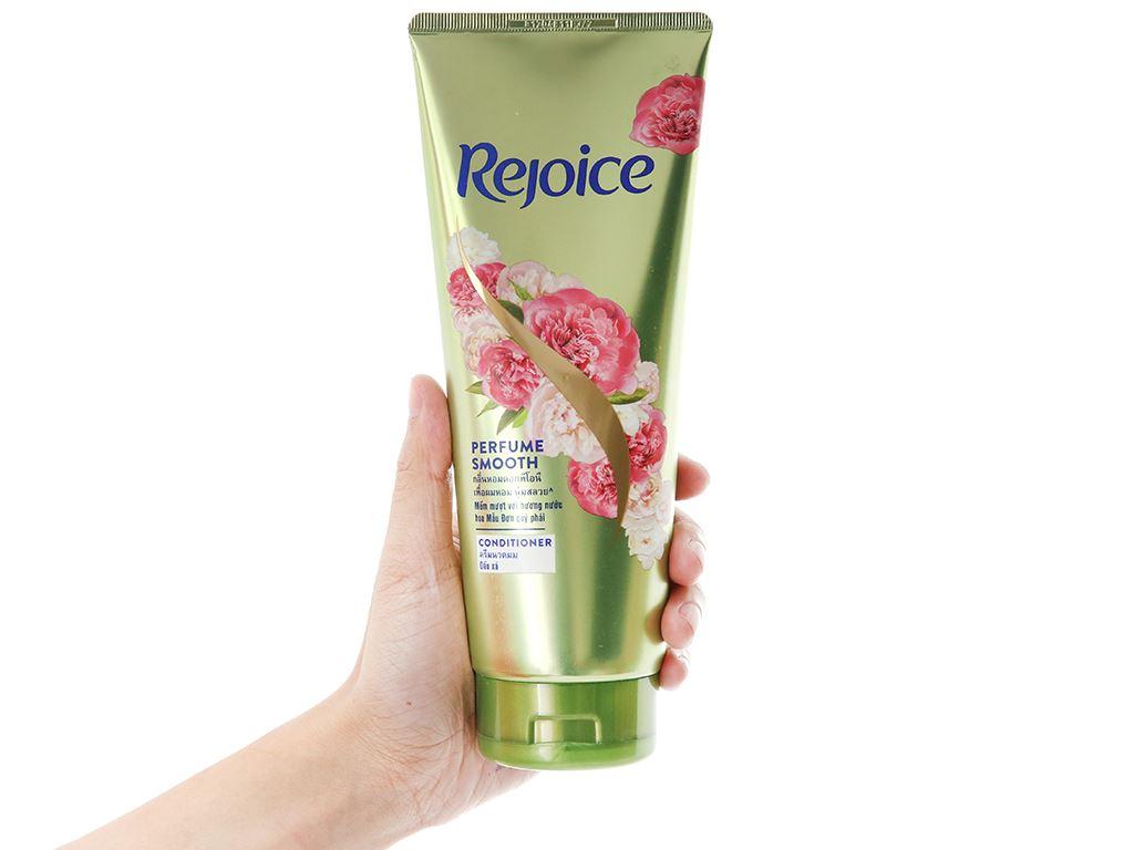 Dầu xả Rejoice mềm mượt hương hoa mẫu đơn 320ml 4