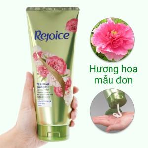 Dầu xả Rejoice mềm mượt hương hoa mẫu đơn 320ml