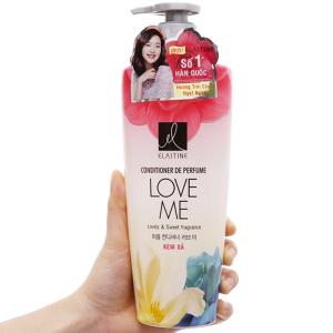 Kem xả nước hoa Elastine Love Me óng mượt chắc khoẻ 600ml