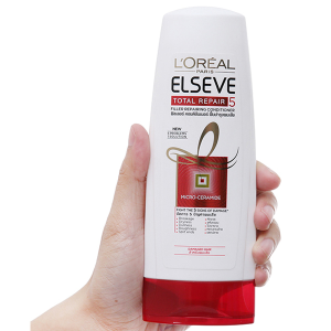 Dầu xả phục hồi hư tổn L'Oréal Elseve Total Repair 165ml