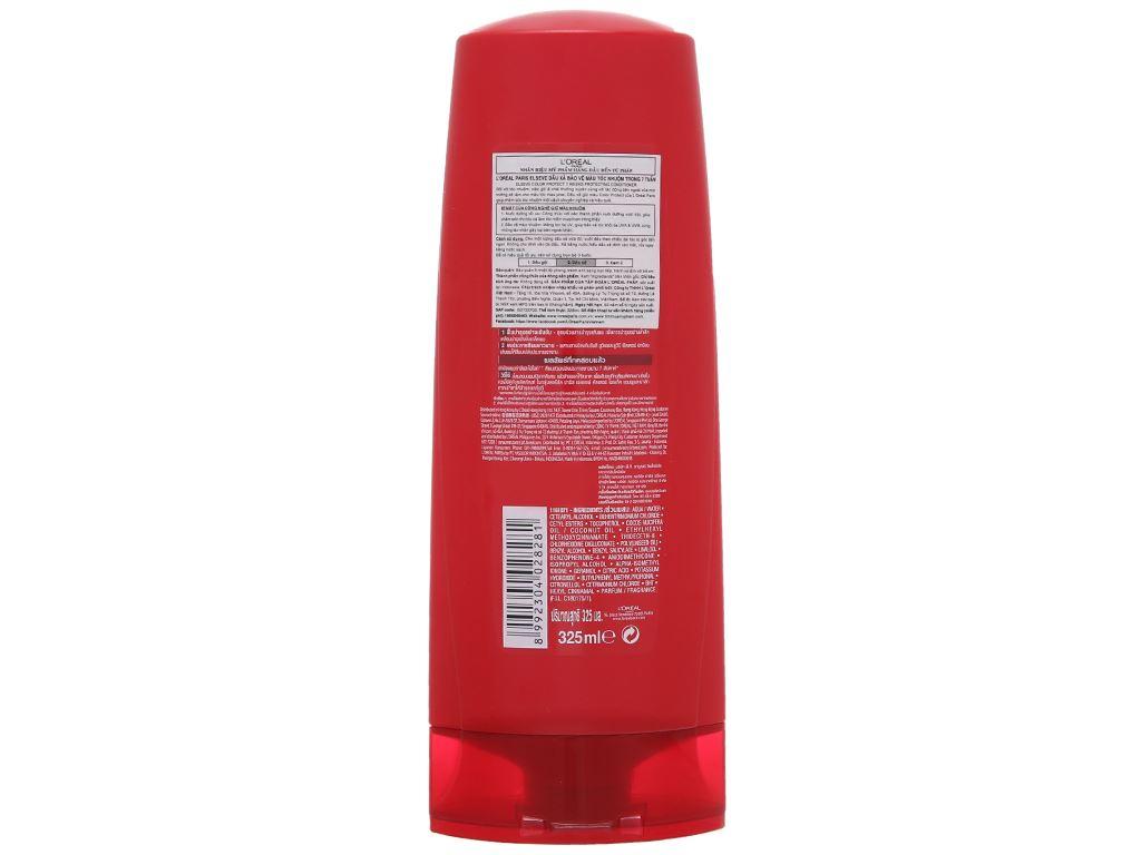 Dầu xả bảo vệ màu tóc nhuộm L'Oréal Elseve Color Protection 325ml 1