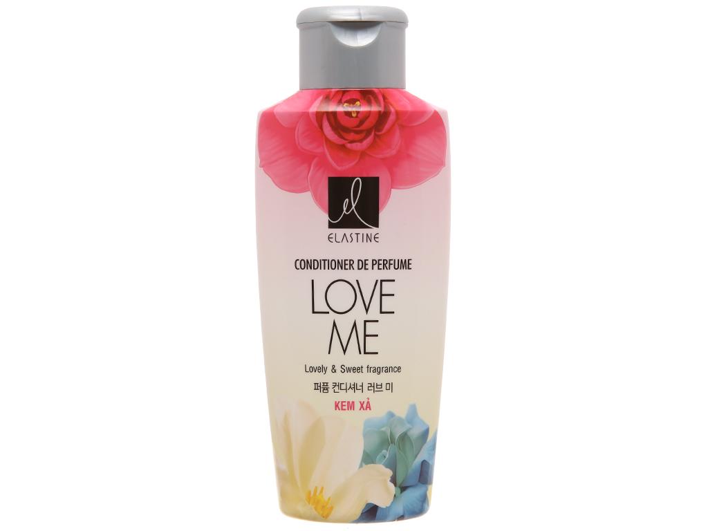 Kem xả nước hoa Elastine Love Me óng mượt chắc khoẻ 170ml 2