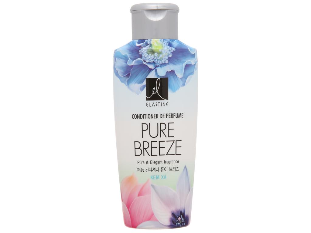 Kem xả nước hoa Elastine Pure Breeze óng mượt chắc khoẻ 170ml 2