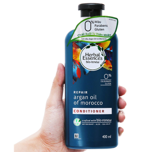 Dầu xả Herbal Essences tinh dầu Moroccan Argan 400ml