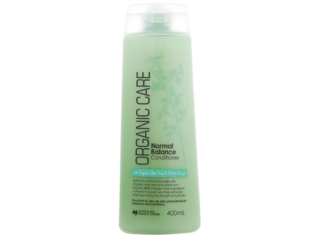 Dầu xả dưỡng tóc bóng mượt Organic Care Normal Balance 400ml 2