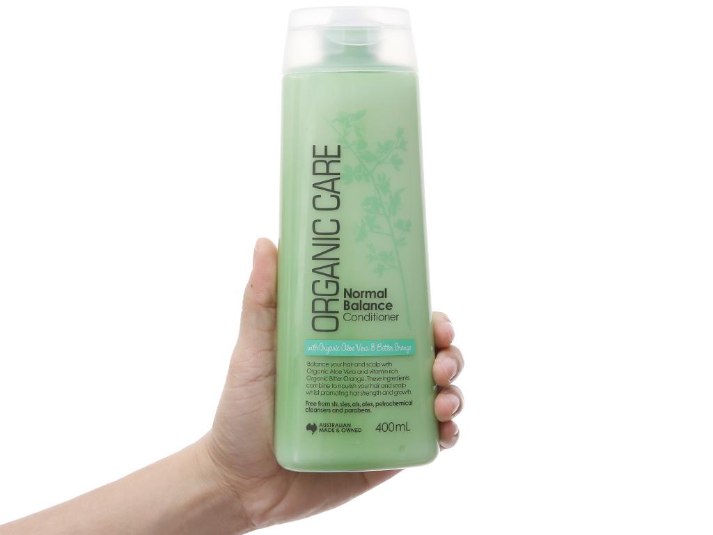 Dầu xả dưỡng tóc bóng mượt Organic Care Normal Balance 400ml 4