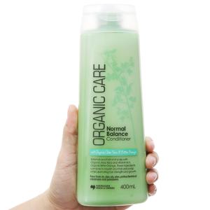 Dầu xả Organic Care dưỡng tóc bóng mượt 400ml