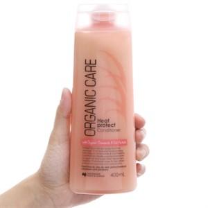Dầu xả Organic Care ngăn ngừa tóc hư tổn và gãy rụng 400ml