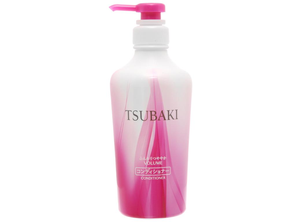 Dầu xả Tsubaki bồng bềnh chắc khỏe 450ml 1