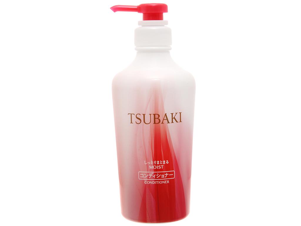 Dầu xả dưỡng ẩm và giữ nếp Tsubaki 450ml 1