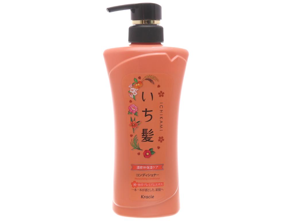 Dầu xả dưỡng ẩm Ichikami 480g 2