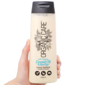 Dầu xả Organic Care Coco phục hồi hư tổn 400ml