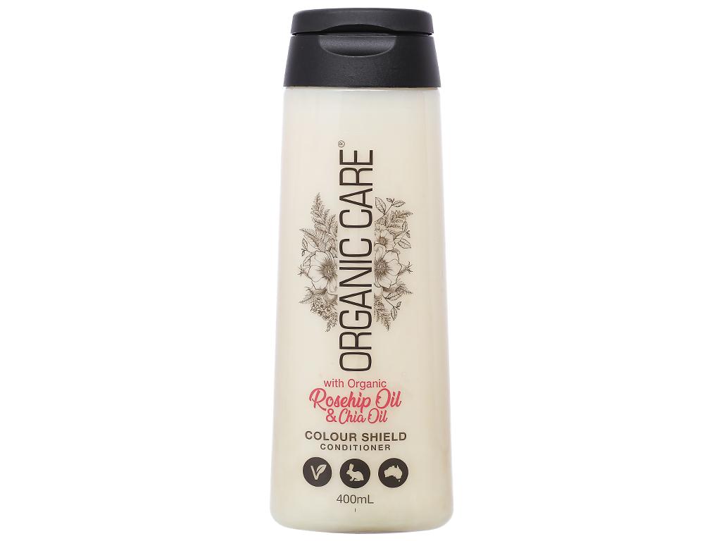 Dầu xả dành cho tóc nhuộm Organic Care Colour Shield 400ml 1