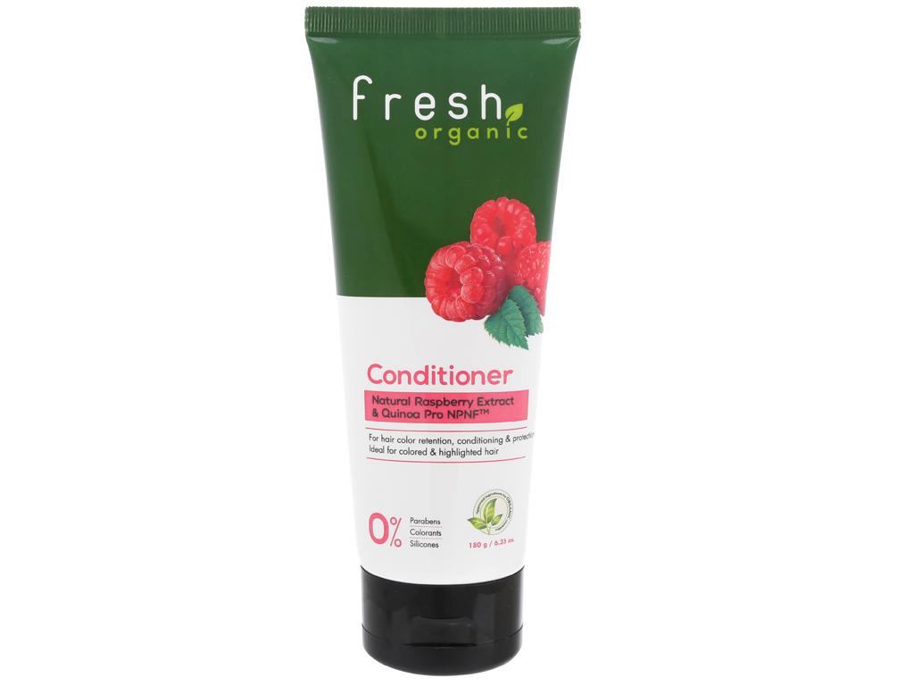 Dầu xả Fresh Organic giữ màu tóc nhuộm 180g 1