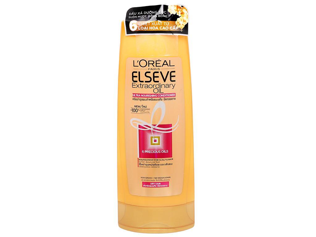 Dầu xả dưỡng tóc L'Oréal Elseve tinh dầu hoa 325ml 1