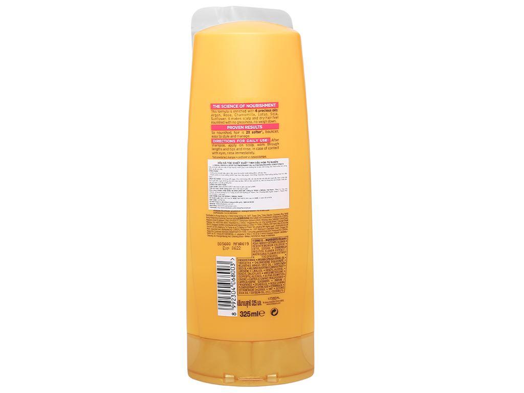 Dầu xả dưỡng tóc L'Oréal Elseve tinh dầu hoa 325ml 2