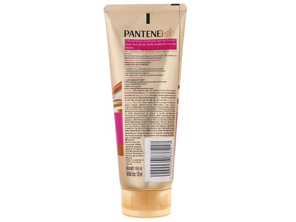 Dầu xả Pantene 3 phút diệu kì ngăn rụng tóc 150ml 2