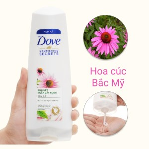 Kem xả Dove bí quyết ngăn rụng tóc 349ml