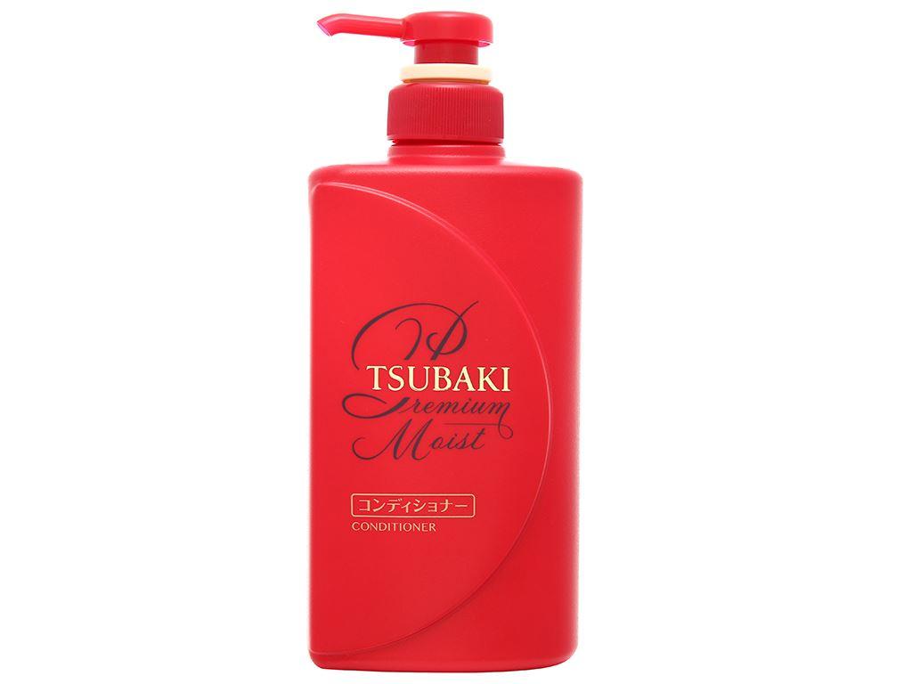 Dầu xả Tsubaki dưỡng tóc bóng mượt 490ml 1