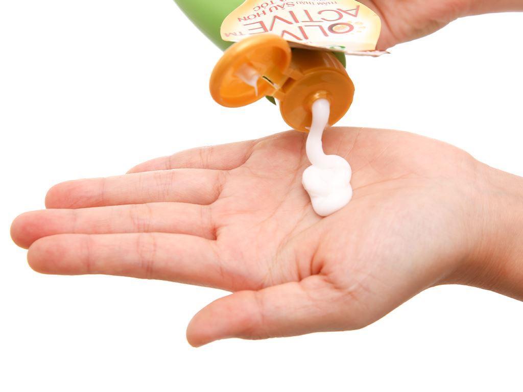 Dầu xả Ôliv dưỡng tóc bồng bềnh 250ml 6