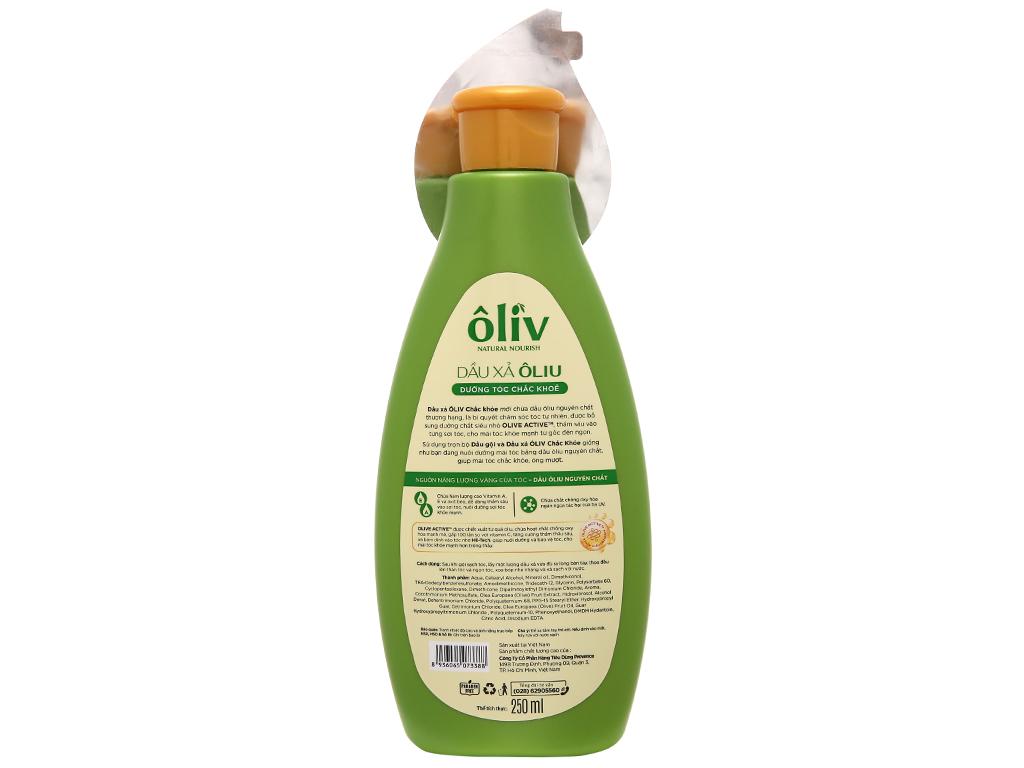 Dầu xả Ôliv dưỡng tóc chắc khỏe 250ml 3