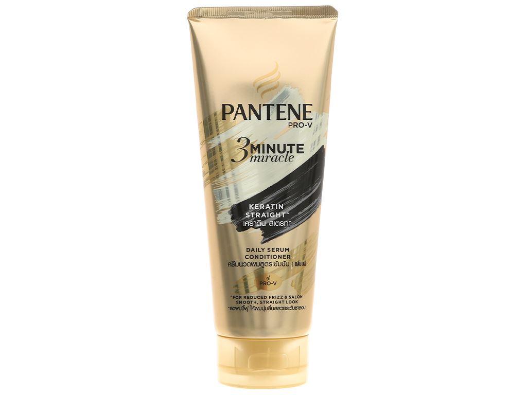 Dầu xả Pantene Pro-V 3 Minute Miracle Keratin 150ml 1