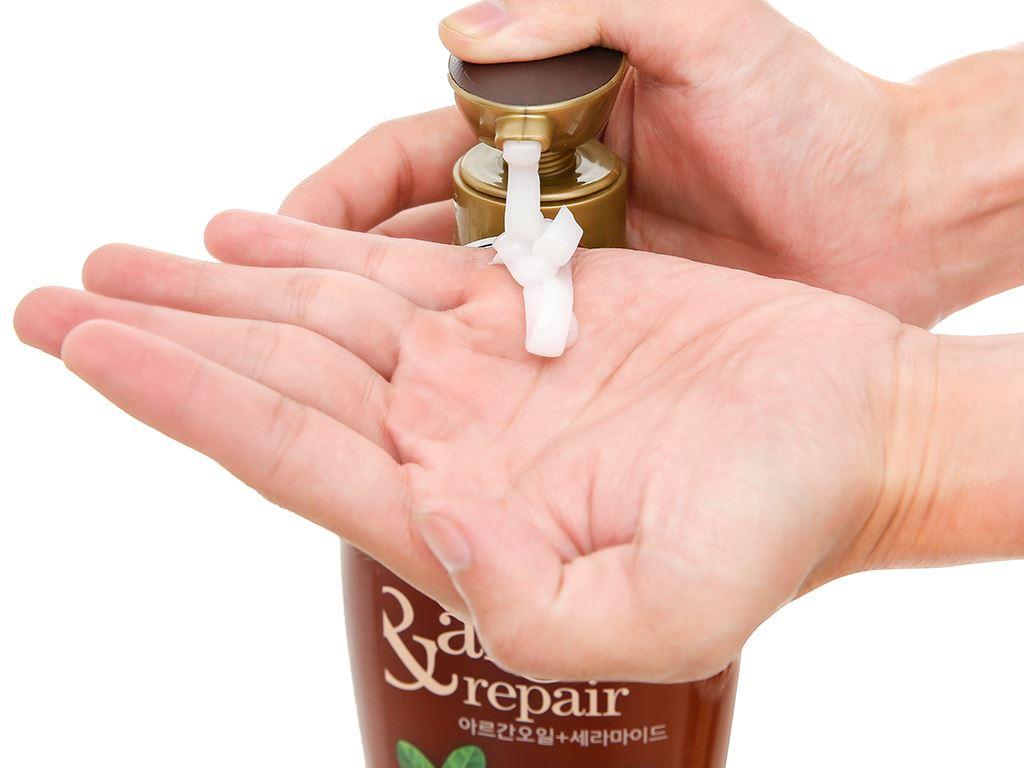 Kem xả Organist nuôi dưỡng tóc tinh dầu Morocco Argan 500ml 4