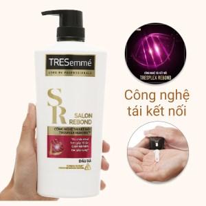 Dầu xả Tresemmé salon rebond ngăn gãy rụng cho tóc hư tổn chai 620g