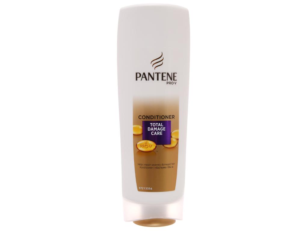 Dầu xả Pantene Keratin Smooth Chăm sóc tóc hư tổn 335ml 2