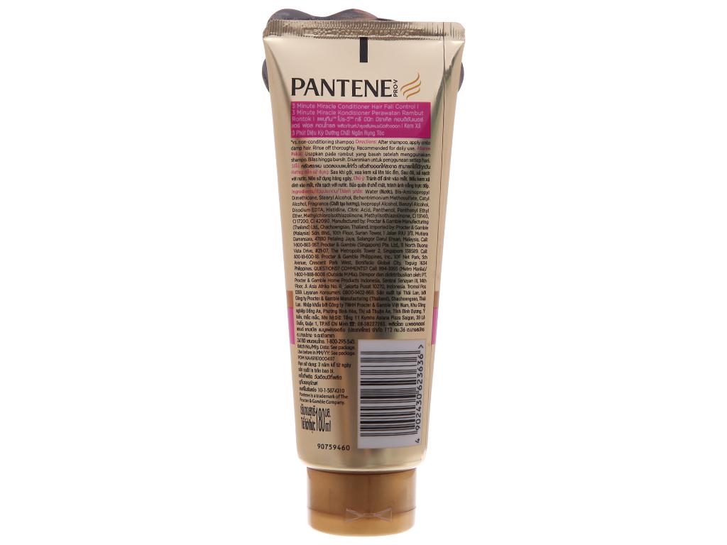 Dầu xả Pantene 3 phút diệu kì dưỡng chất ngăn rụng tóc 180ml 3