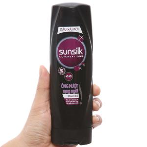 Dầu xả Sunsilk óng mượt rạng ngời 173ml