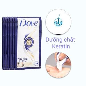 Kem xả Dove phục hồi hư tổn 6.1ml x 12 gói